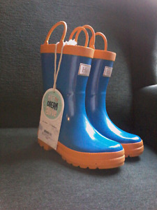 Brand new with tags - Hatley boys size 10 rain boots