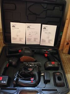 Jobmate 14.4V power tool set