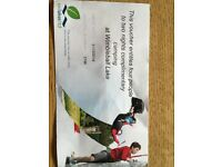 Wimbleball Lake (Exmoor) Camping voucher 2 nights