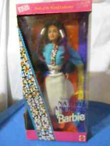 NEW PRICE Special Edition Native American Barbie Cambridge Kitchener Area image 1