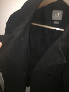 Mens Armani Exchange Black Winter Jacket