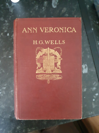 HG WELLS. ANNE VERONICA (FIRST EDITION)