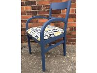 Postage stamp chair