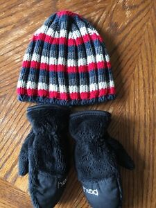 Hat and warm gloves