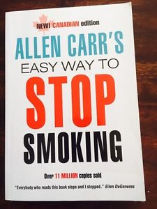 An easy way to quit smoking Allen Carr book