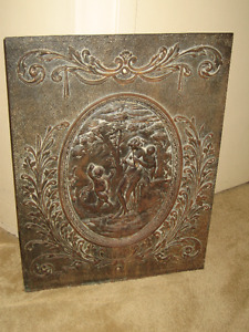 Antique fire Place Cover