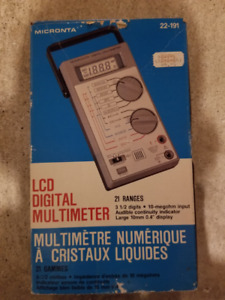 Micronta 22-191 Digital Multimeter