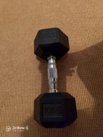 10 kg dumbell