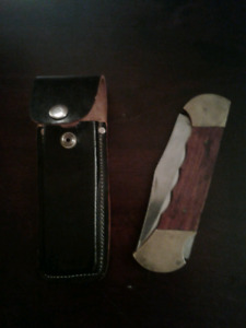 Vintage Buck Knife/Lock Back