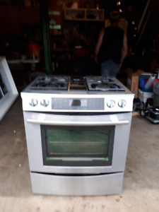 i have a jennair gas burner, electric convection oven for sale