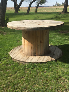 For Rent: Large Wooden Spools