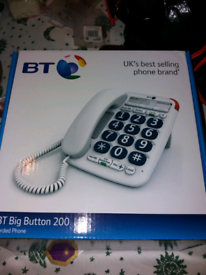 BT corded phone Big Button 200