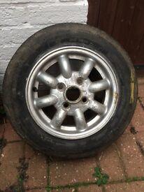 Classic mini 12 inch alloy wheel
