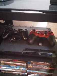 Selling ps3 150gb plus 9 games