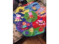Peppa Pig Muddy Puddles Learning Game Mat