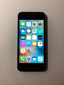 UNLOCKED Space Grey 16GB iPhone 5S (A Condition) + iOS10