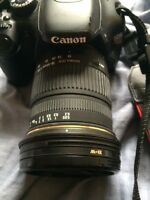 Selling canon t2i and sigma 18-50mm macro
