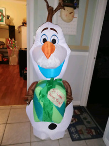 Olaf inflatables