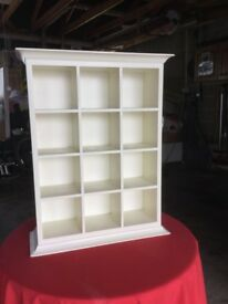 Wall Mounted Curio Display Cabinet