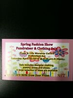 Spring Fashion Show Fundraiser & Clothing Sale