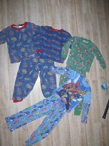 Lot de 4 pyjamas pour garçon 5 ans