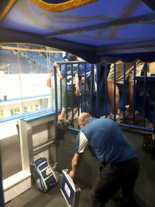 Pittsburgh Penguins @ Buffalo Sabres TICKETS ON THE PENS TUNNEL