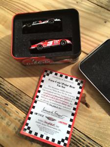 Coca Cola Polar Bear 2 car Tin Set honoring the Earnhardt's