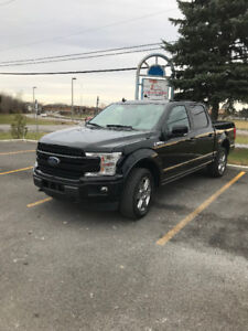 2018 Ford F-150 Lariat Supercrew cab for sale or lease takeover!