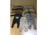 Baby boy clothes (open to sensible offers)