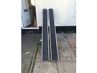 Disabled ramps for fiat doblo or motorbike trailer 60 pounds