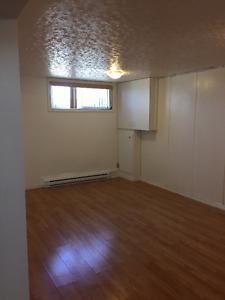 2 bedroom lower level of duplex.