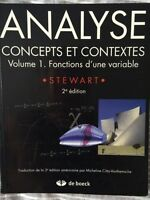 Analyse Concepts et Contextes Volume 1