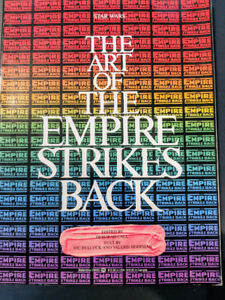 The Art of The Empire Strikes Back Book Paperback ( Star Wars)