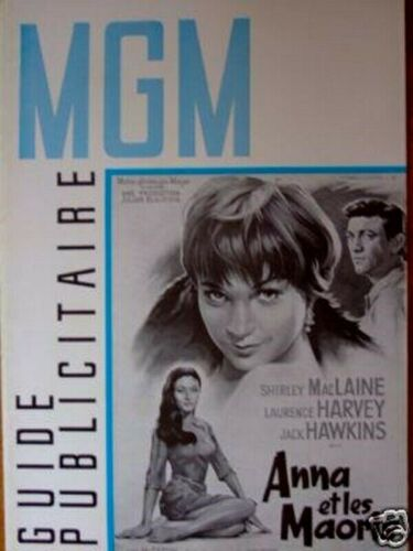 SHIRLEY McLAINE french Pressbook TWO LOVES