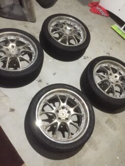Mercedes 18' wheels rims 235/40/18 Maxxis, Falken, Continental Tyres Schofields Blacktown Area Preview
