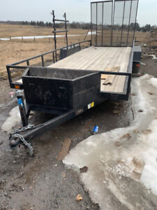 20' x 7' Landscaping trailer