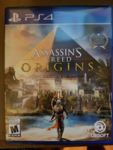 Assassin's Creed: Origins for sale. Mint condition!