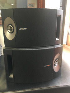 BOSE 201V Speakers (set of two - right and left)