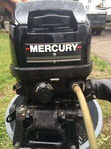 Chaloupe princecraft 14' Mercury 9,9 hp