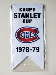 CENTENNIAL STANLEY CUP 1978-79 BANNER MONTREAL CANADIENS HABS Gatineau Ottawa / Gatineau Area image 1