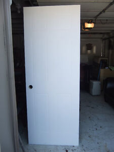 brand new white interior door 30inch , by 80inch tall