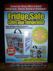 Fridge Safe - protect medications at home or lunch at work! NEW!
