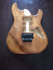 Strat style project body