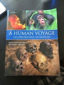 Biological anthropology - A Human Voyage  Peterborough Peterborough Area image 1