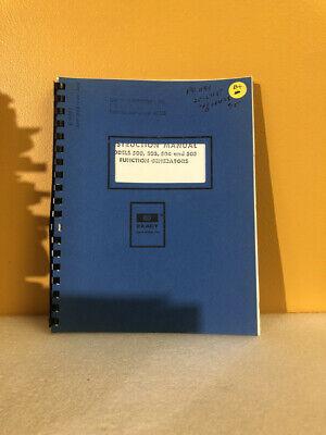 Exact Models 500 503 504 And 505 Function Generators Instruction Manual