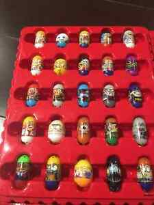 Cool Mighty Beans **SOME RARE** With Star Wars Collectors Case