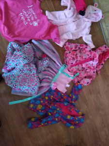 Baby girls clothes from 6-12-12-18-24-2-3 toddler and 6-9 months