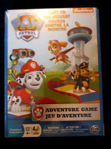 Paw Patrol Adventure Game.GIFTABLE.Preschool.Age 4+.2-4 Players