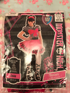 Monster High - Draculaura Costume Medium 8-10