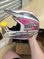 Fulmer Rockstar DOT Certified Motorcross Helmet with Cover.   S